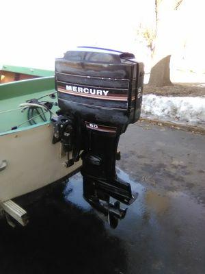 Photo Mercury outboard motor 60hp