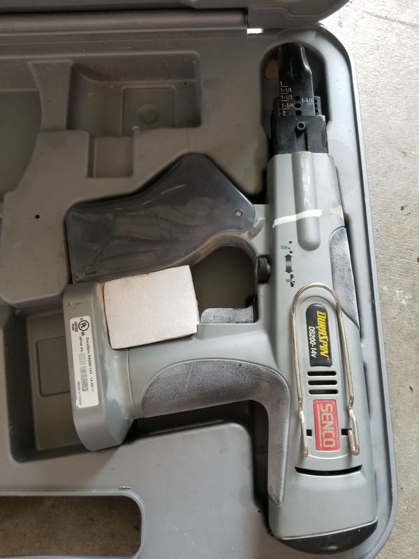 Senco duraspin ds200-14v screw gun no batteries or charger for Sale in  Miami, FL - OfferUp