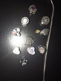 Pandora Bracelet & Charms Thumbnail