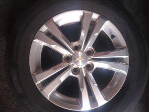 Photo Bridge Stone Tires w/ Chevy Rims Set of 4