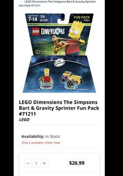Lego Bart Simpson  Thumbnail