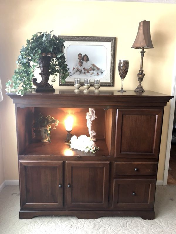 Pottery Barn Armoire Garrison Secretary Desk Versatile Uses Lots Of Storage Pending Pickup For In Mishawaka Offerup
