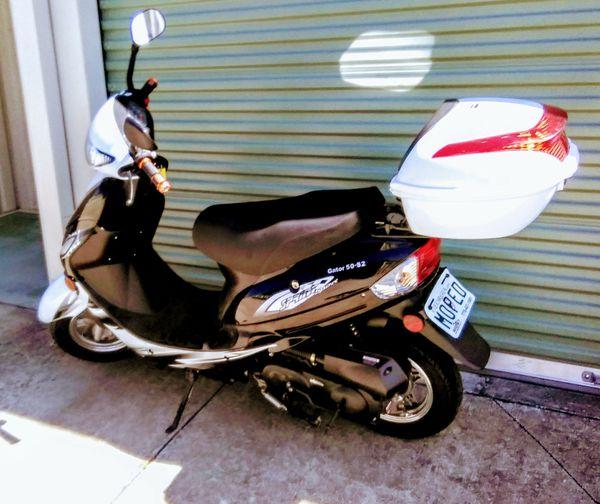 2018 zhejiang gator 50cc scooter