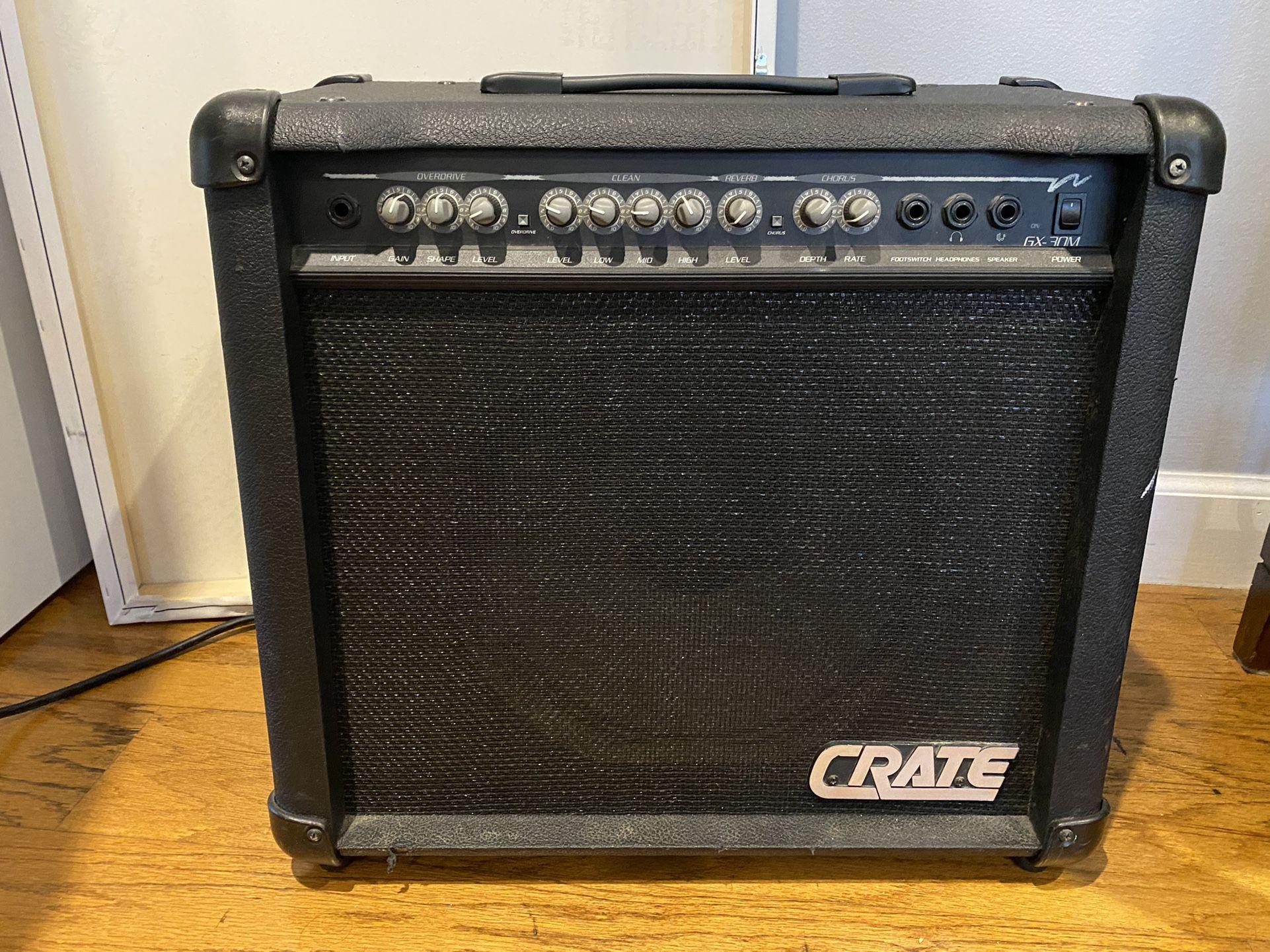 Crate GX30M Combo Guitar Amp
