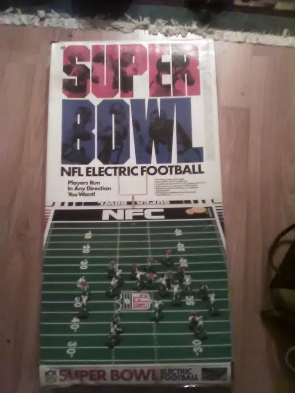 Nfl Super Bowl Electric Football New York Giants Denver Broncos Tudor For In Haddonfield Nj Offerup