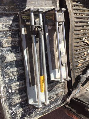 Two manual tile cutters for Sale in Miami, FL