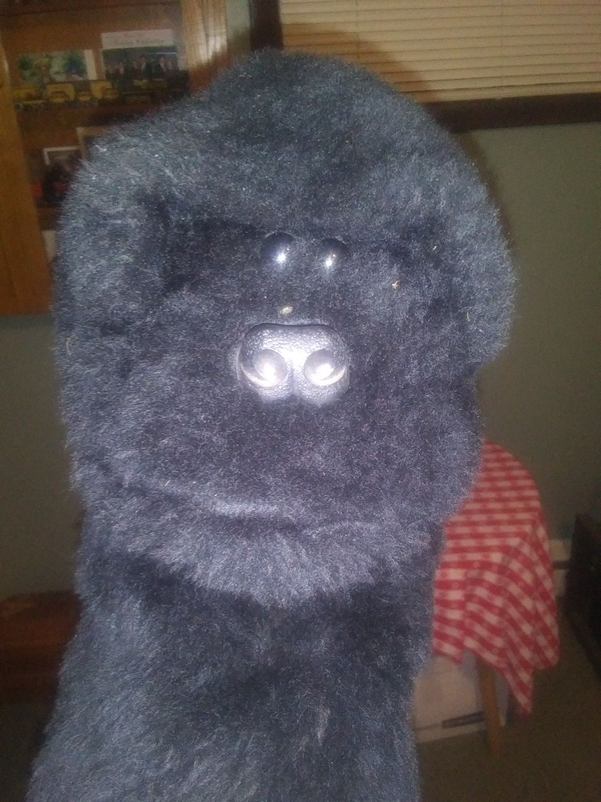 Gorilla hand puppet/Golf club cover