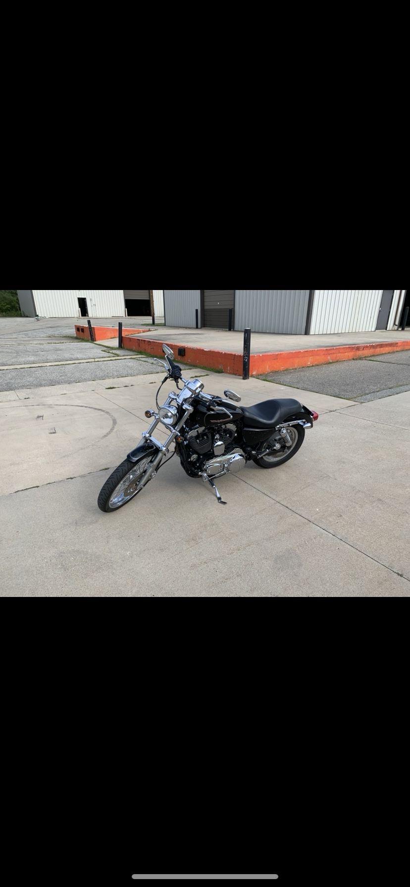 Photo 2006 Harley Davidson Sportster 1200 Custom