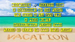 Discount airline tickets!!! for Sale in Baltimore, MD