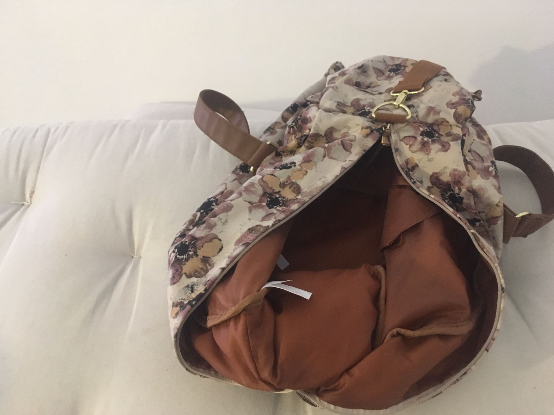 Tavel bag, flowered