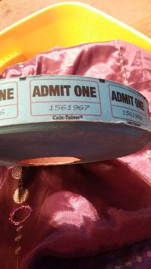 Roll of Admit One Tickets for Sale in Murfreesboro, TN