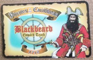 Photo Pirates of the Caribbean Blackbeard souvenir novelty card