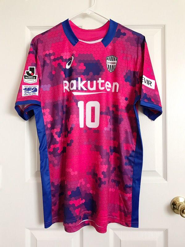 7f5b43d0927 Large J-league 2017 Vissel Kobe Home Jersey #10 Podolski Port of Kobe 150th  Anniversary special edition for Sale in Pomona, CA - OfferUp