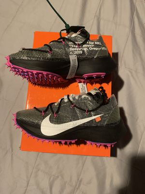 Photo NIKE X OFF WHITE VAPOR STREET SIZE 5.5 (7 women )