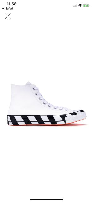Converse Chuck Taylor All-Star 70s Hi Off-White size 10 for Sale in Manassas, VA