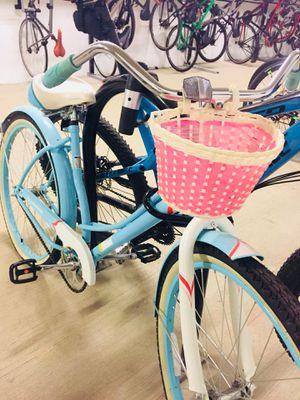 light blue Schwinn bike for Sale in Arlington, VA