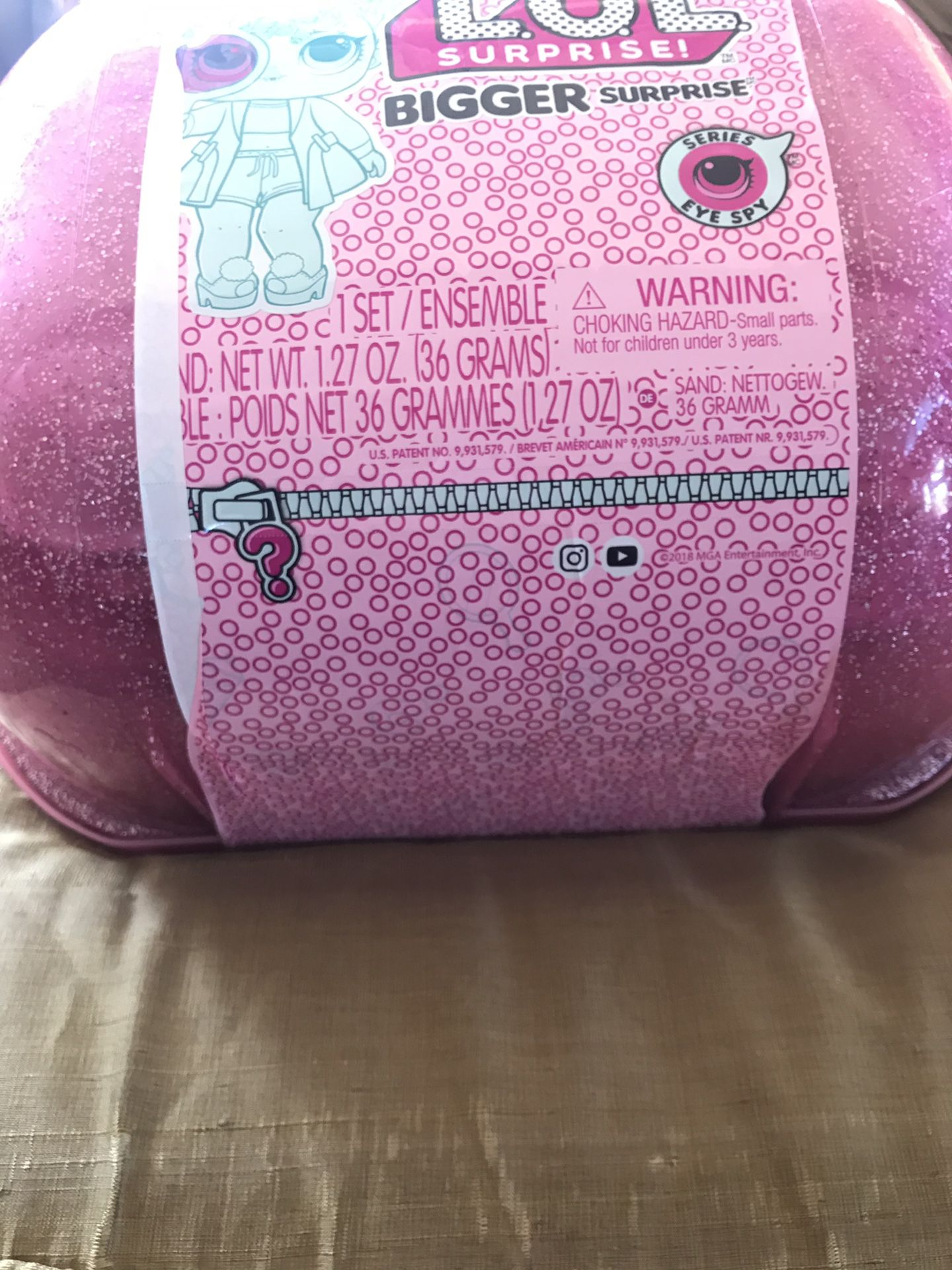 New L.O.L Surprise! Bigger Surprise Christmas gift