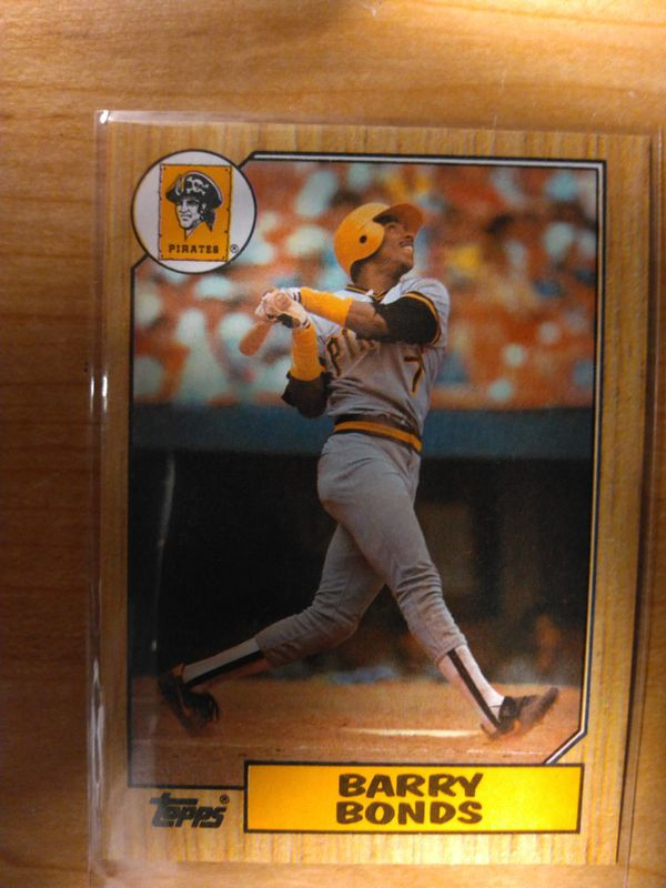 Barry Bonds Rookie Card Error On Back 320 For Sale In Los Angeles Ca Offerup