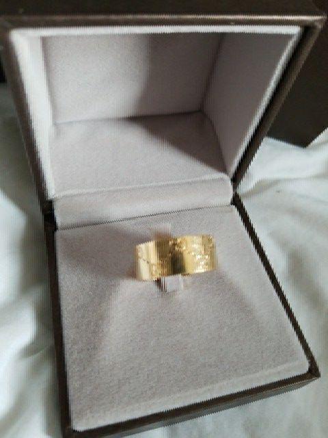 Men's Gucci ring 18k