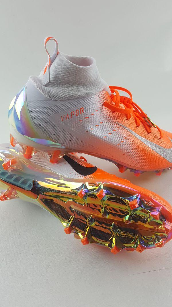 separation shoes 28672 a663c NEW NIKE VAPOR UNTOUCHABLE PRO 3 PRM FOOTBALL CLEATS Size 12 CARBON FIBER