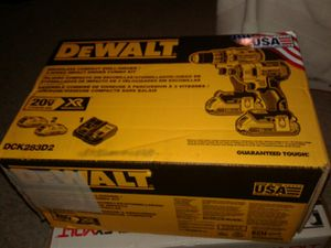 DeWalt 20 volt XR compact drill driver combo kit for Sale in Columbus, OH