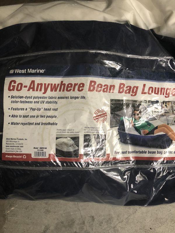 Amazing West Marine Bean Bag Chair Lounger For Sale In Tarpon Springs Fl Offerup Machost Co Dining Chair Design Ideas Machostcouk