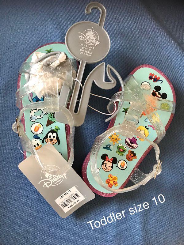 b81931974 New Disney Emoji Flip Flops Toddler size 10 (Nuevos). for Sale in Palmdale