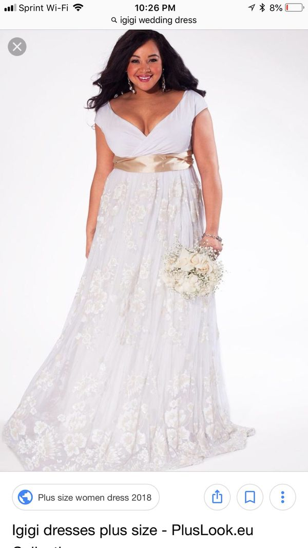 Plus Size Igigi Wedding Dress 2224 For Sale In Kansas City Mo