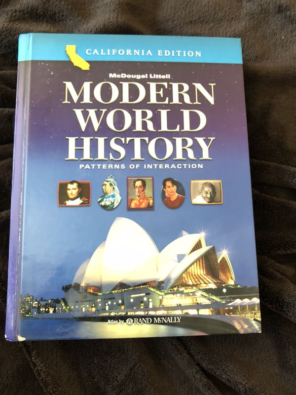 CA Edition Modern World History Textbook For Sale In Corona CA OfferUp