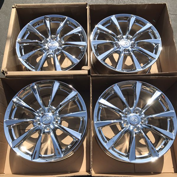 "New 18"" oem Infiniti G37 Enkei factory wheels 18 inch ..."