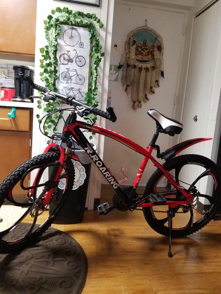 26inches Mountain bike Very nice Bike 21 Speed  One Of A Kind 175 $