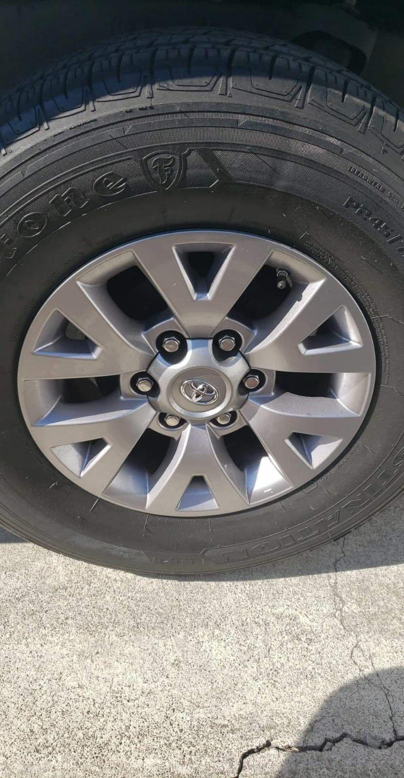 2016 Tacoma Rims & tires set