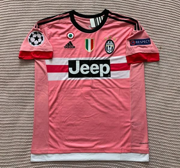 separation shoes 71b5f 193ad Gianluigi Buffon Juventus Soccer Team New Men's Champions League Pink  Goalkeeper Soccer Jersey - Size Medium for Sale in Chicago, IL - OfferUp