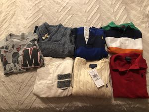 Size 4t shirts/ sweaters for Sale in Fairfax, VA