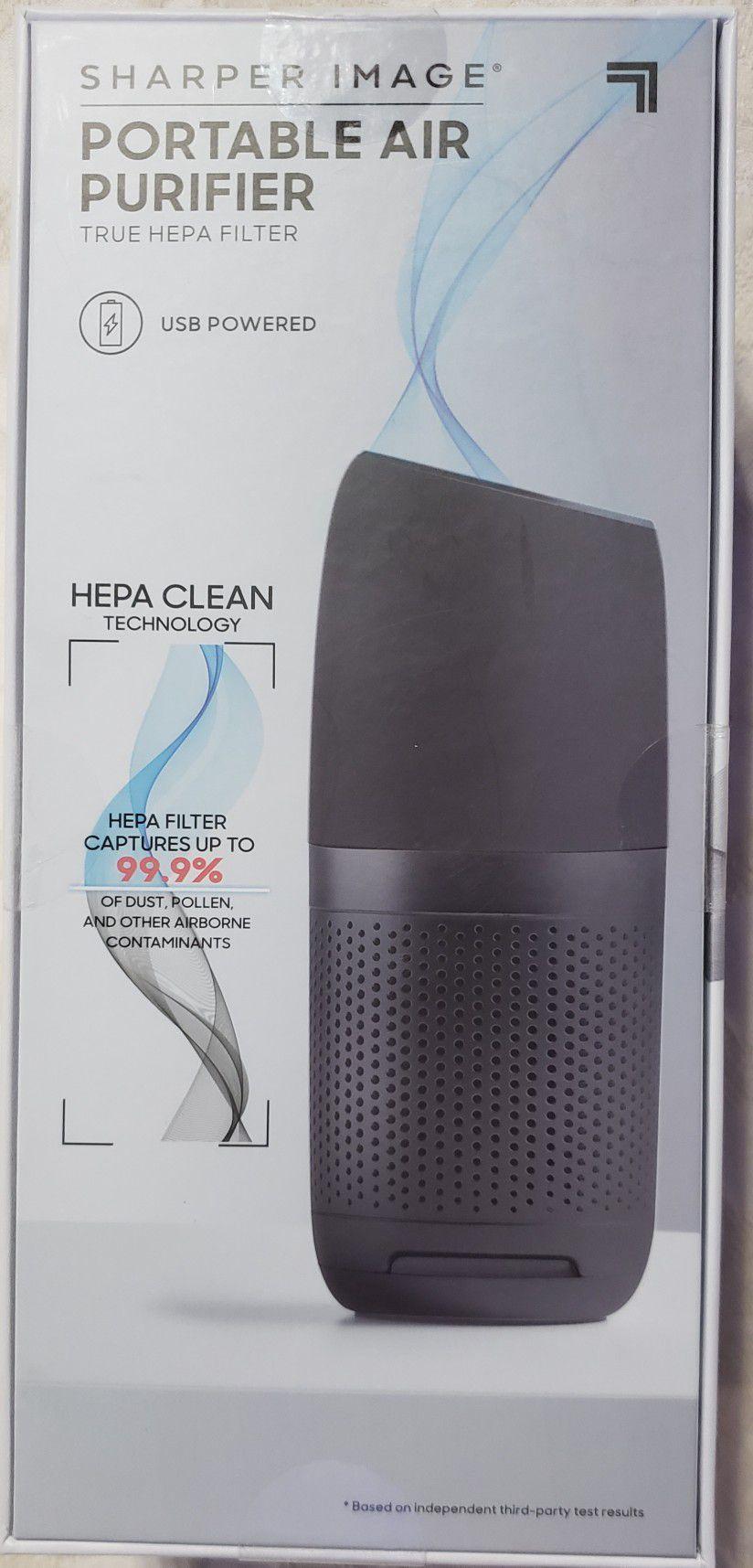 Sharper Image Portable Air Purifier w/HEPA