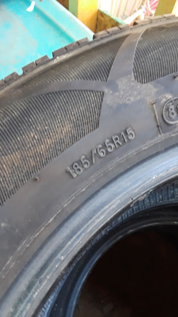 Used Tires But Are Good Size 15 185 65 15 Auto Parts In Avondale