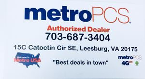 MetroPCS Authorized Dealer for Sale in Leesburg, VA