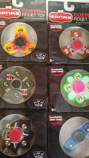 Various shapes of fidget spinners for Sale in WA, US