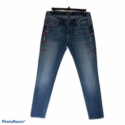 Driftwood Embroidered Jeans Thumbnail
