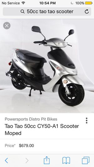 50cc scooter $679 for Sale in Baltimore, MD