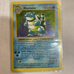 Blastoise Holo Thumbnail