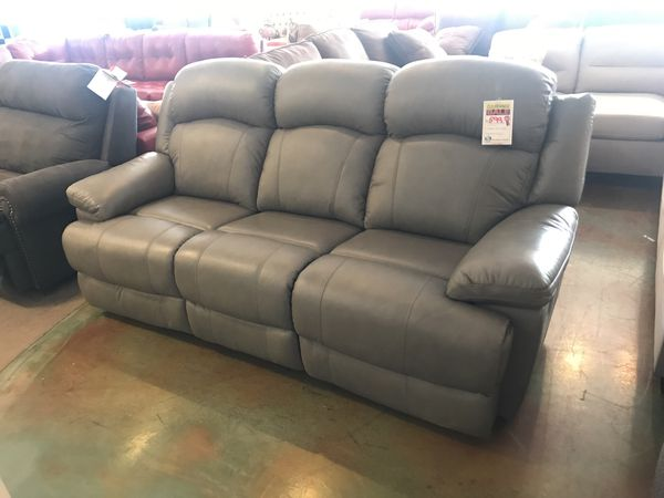 Grey Bonded Leather Sofa Recliners for Sale in Phoenix, AZ - OfferUp