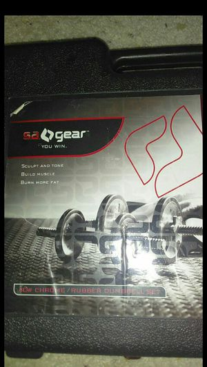 45lb dumbbell set for Sale in Olympia, WA