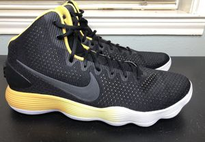 a0e76cc3cb4f Nike Mens Hyperdunk 2017 BLK Shoes (897660-003) Black Wht Yellow Size 18  for Sale in Houston