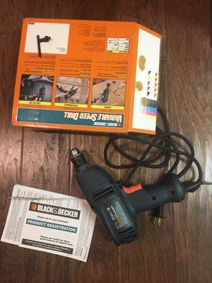Black & Decker Drill DR200 for Sale in Houston, TX