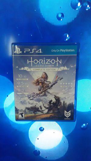 Horizon Zero dawn complete edition ps4 for Sale in Tacoma, WA
