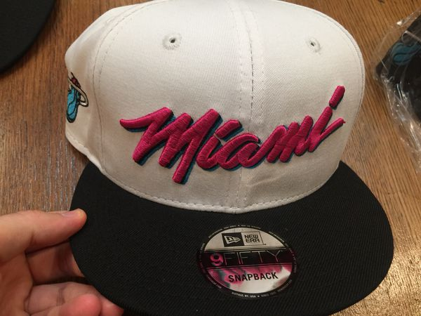 7b22dba19 Miami Heat Vice Limited Edition Snapback Cap New for Sale in Davie ...