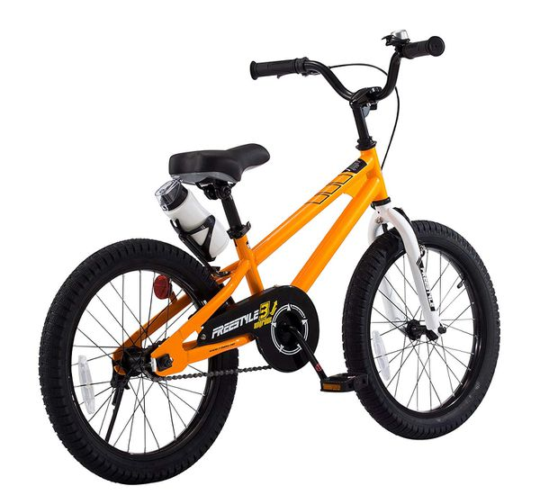 Royalbaby Bmx Freestyle Kid's Bike, 18 Inch Wheels With Kickstand ... royalbaby bmx freestyle kid's bike 18