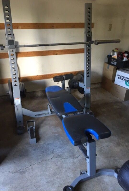 Nautilus Foldable Weight Bench With Preacher Curl For Sale In Seattle Wa Offerup