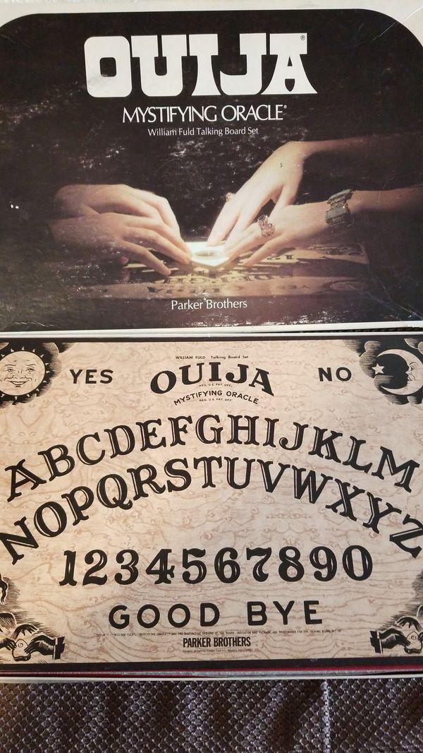 Vintage 1970s Ouija Board w/ Planchette  Great Condition for Sale in  Seattle, WA - OfferUp